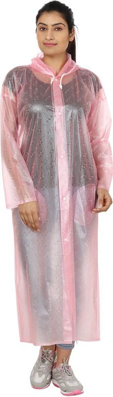 Rainfun Self Design Women's Raincoat