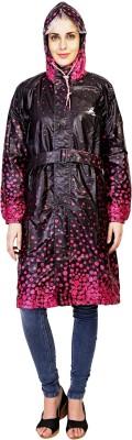 Zeel Printed Women's Raincoat