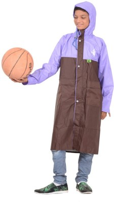 Allwin NA Solid Girl's Raincoat