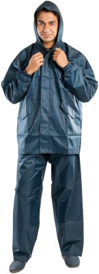Hells Angle Club Solid Men's Raincoat