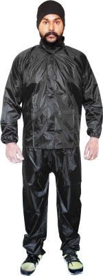 Silver Swan Solid Men's Raincoat
