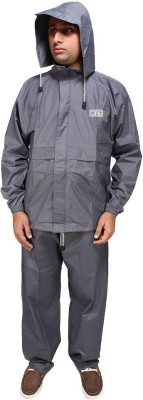 Midas Safety Solid Men's Raincoat