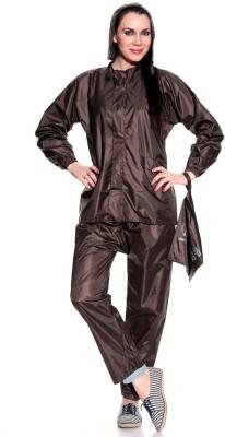 Civil Outfitters Women Rainsuit Solid Women's Raincoat