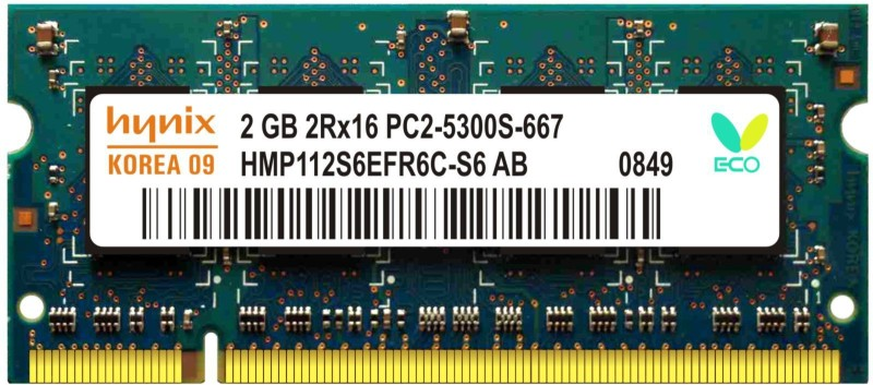 Hynix Genuine DDR2 2 GB Laptop (H15201504-21)