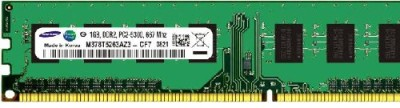 SAMSUNG Original Refurbished DDR2 1 GB (1GB) PC (Refurbished Desktop RAM)(Green)