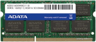 ADATA Premier DDR3 8 GB Laptop (ADDS1600W8G11-B)