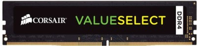 Corsair Value Select DDR4 8 GB (1x8GB) PC (CMV8GX4M1A2133C15)(Black)
