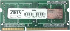 ZION ZHY DDR3 4 GB (4 GB) Laptop (ZHY13334096N)