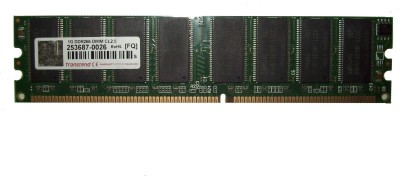 Transcend DDR400 DDR 1 GB (1x1 GB) PC (253687-0026)
