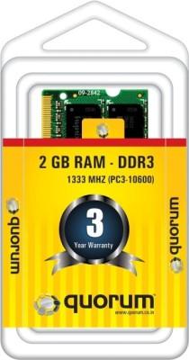 Quorum-1333MHZ-DDR3-2-GB-(1-x-2-GB)-Laptop,-PC-DDR3-(Lapee-1333)