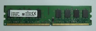 Kingston DIMM DDR2 2 GB (1 x 2 GB) PC DRAM (KVR800D2N6/2G)(Green)