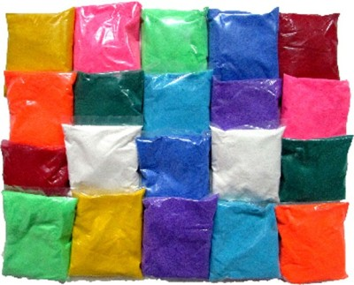 Gathbandhan Pack of 20 Rangoli Powder