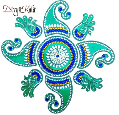 Divyakala DK22 Rangoli Stencil