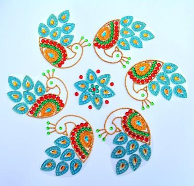 Nandini Selfie Decorative MMRS 015 Rangoli Stencil