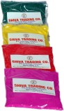 Shiva Holi Color Powder Pack of 4 (Red, ...
