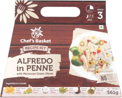 Chef's Basket Alfredo in Penne with Moroccan Green Olives 561 g