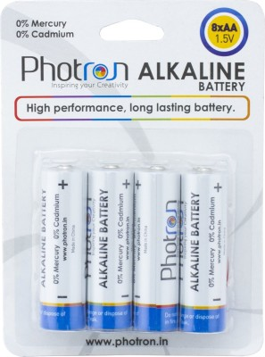 Photron High Performance AA (Paack of 8) Alkaline Battery