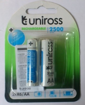 Uniross 2500 mAh Ni-Mh AA Rechargeable Ni-MH Battery