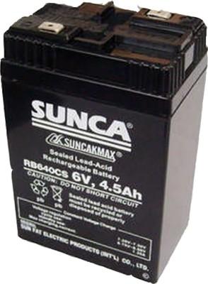 sunca 6.4mah Rechargeable Lead Acid Battery