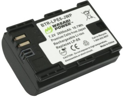 Wasabi Power Btr-Lpe6-Jwp-001 Battery For Canon Rechargeable Li-ion Battery