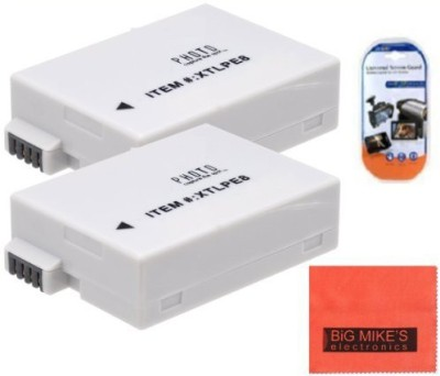 Big Mike s Lp-E8 Lpe8 Replacement Batteries Each For Canon Rebel Rechargeable Li-ion Battery