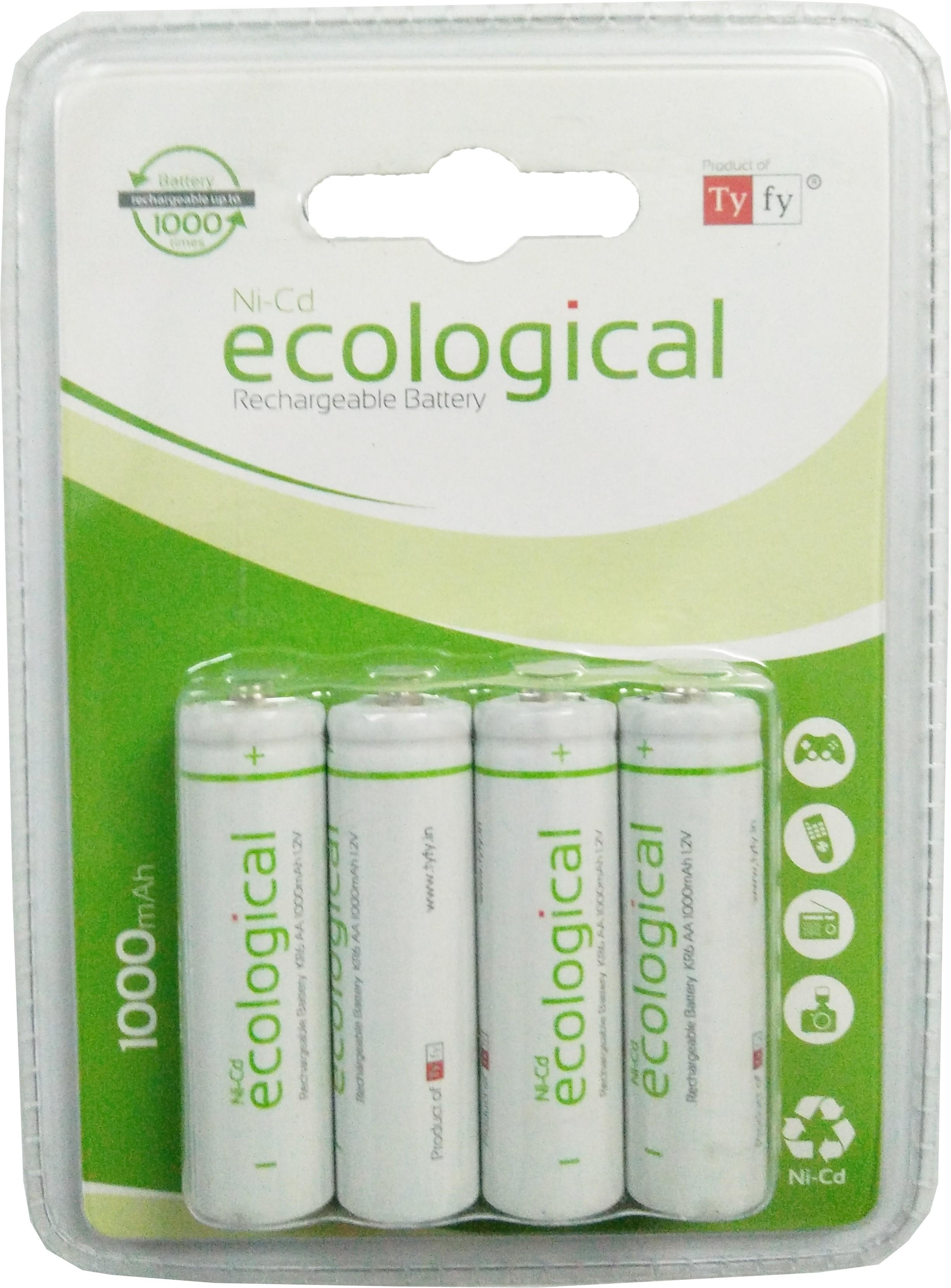Batteries Sanyo Eneloop Battery Aa 2pcs Tyfy 1000 Bp4 X 2 Packs Rechargeable Ni Cd