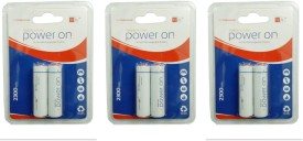Tyfy 2300 BP2 X 3 packs AA Rechargeable Ni-MH Battery