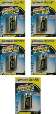 Skywok 1.2V,1100AA, 5 pks of 10 pieces,SW004 Rechargeable Ni-MH Battery