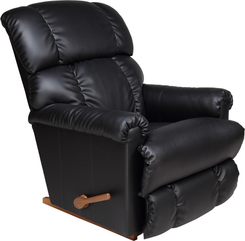 View La-Z-Boy Pinnacle Leatherette Manual Rocker Recliners(Finish Color - Black) Furniture (La-Z-Boy)