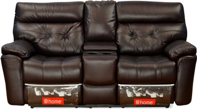 @home by Nilkamal Half-leather Powered Recliners