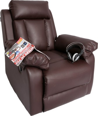 Recliners India Leatherette Manual Recliners(Finish Color - Brown)