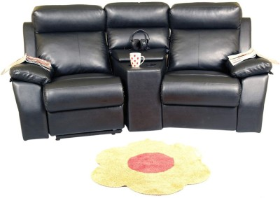Recliners India Leatherette Manual Recliners(Finish Color - Black)