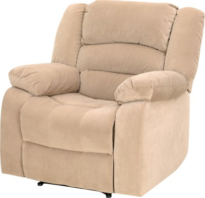 Royal Oak Fabric Manual Recliners(Finish Color - Beige)