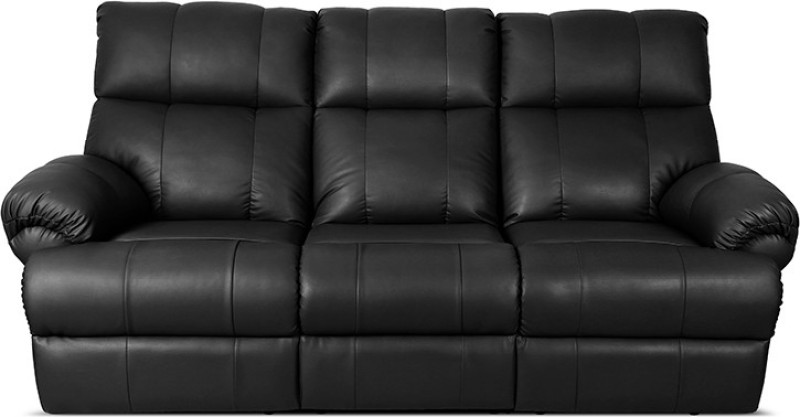 Little Nap Recliners Leatherette Powered Recliners(Finish Color - Black)