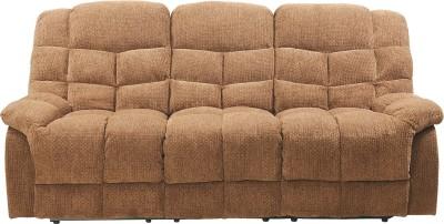 Royal Oak Fabric Manual Recliners(Finish Color - Brown)