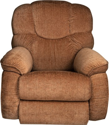 La-Z-Boy Dreamtime Fabric Manual Rocker Recliners(Finish Color - Brown)
