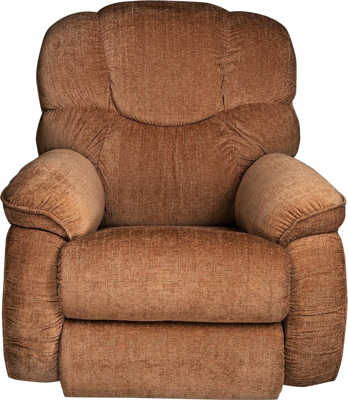 View La-Z-Boy Dreamtime Fabric Manual Rocker Recliners(Finish Color - Brown) Furniture (La-Z-Boy)