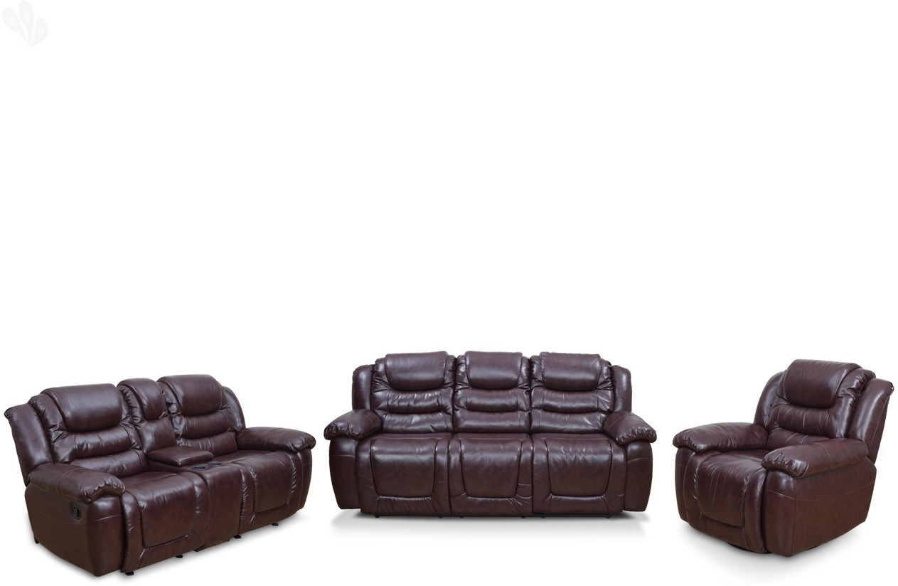 RoyalOak Bonded Leather Manual Recliners