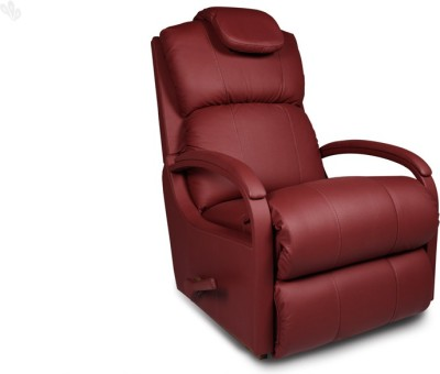 La-Z-Boy Harbor Town Leather Manual Rocker Recliners(Finish Color - Red)