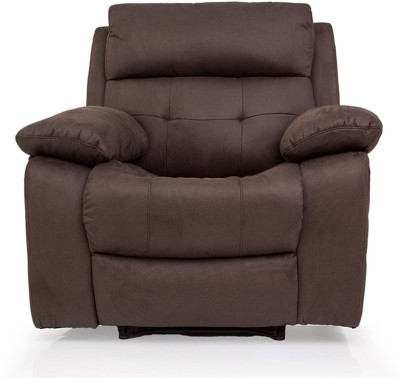 Evok Eon Fabric Manual Recliners(Finish Color - Brown)