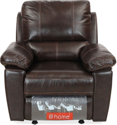 @home by Nilkamal Half-leather Manual Recliners