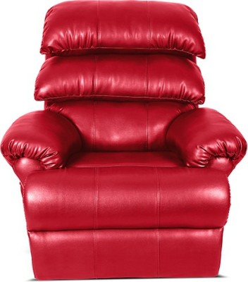 Little Nap Recliners Leatherette Manual Recliners(Finish Color - Red)