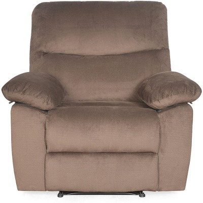 @home by Nilkamal Fabric Manual Recliners(Finish Color - Brown)