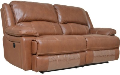 HomeTown Half-leather Powered Sectionals(Finish Color - Brown)