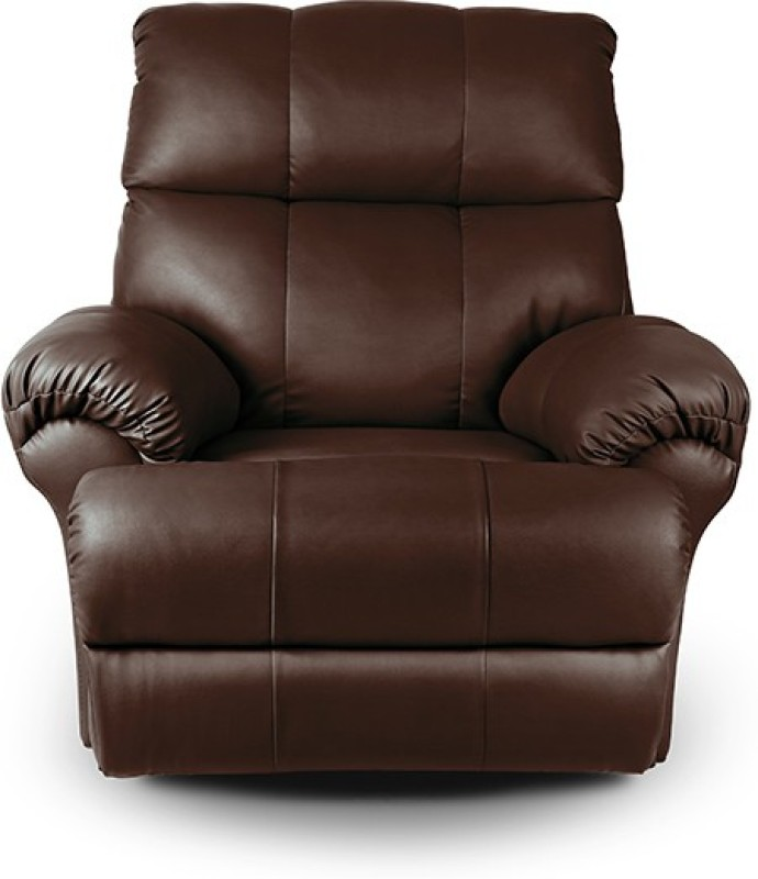 Little Nap Recliners Leatherette Manual Recliners(Finish Color - Brown)