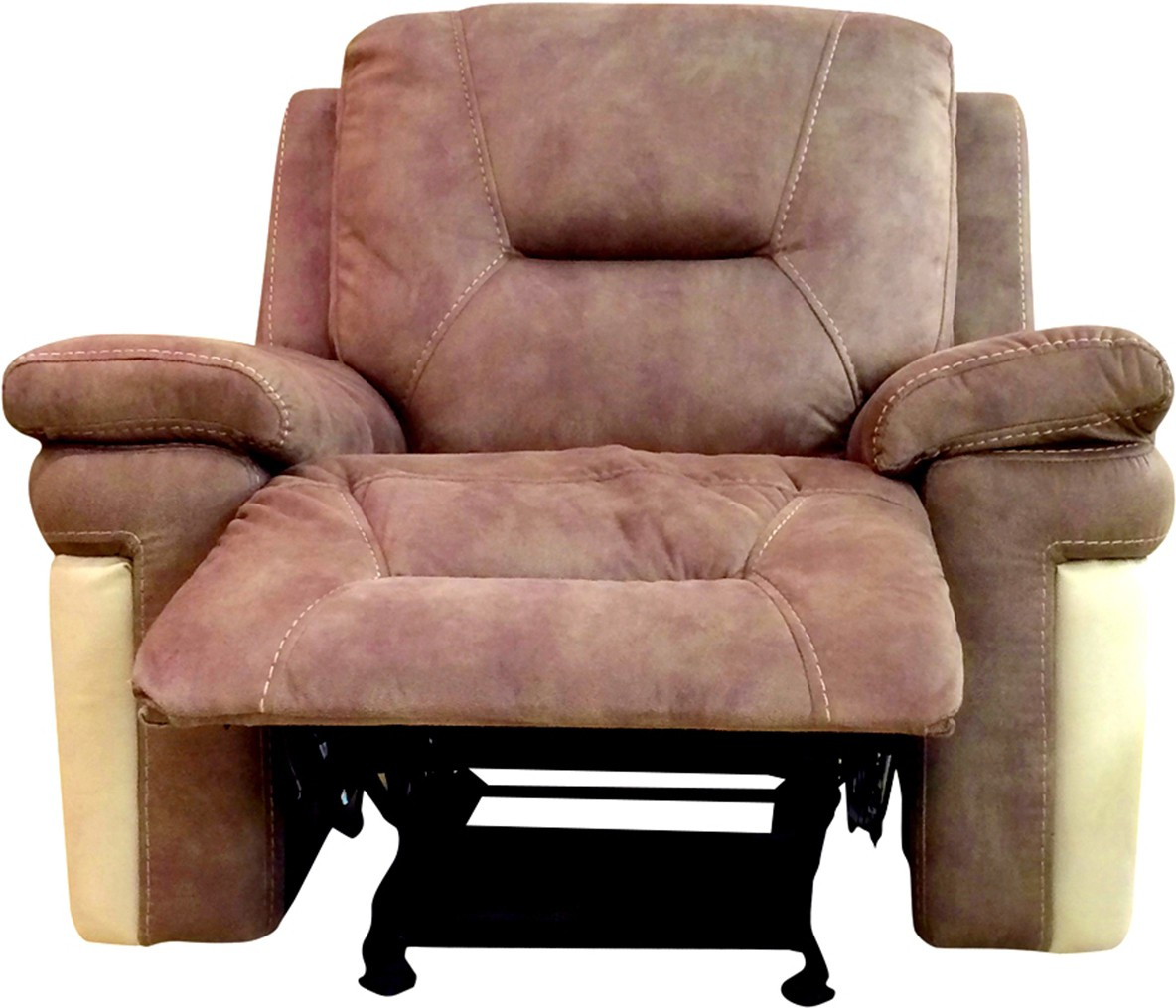 HomeTown Fabric Manual Rocker Recliners