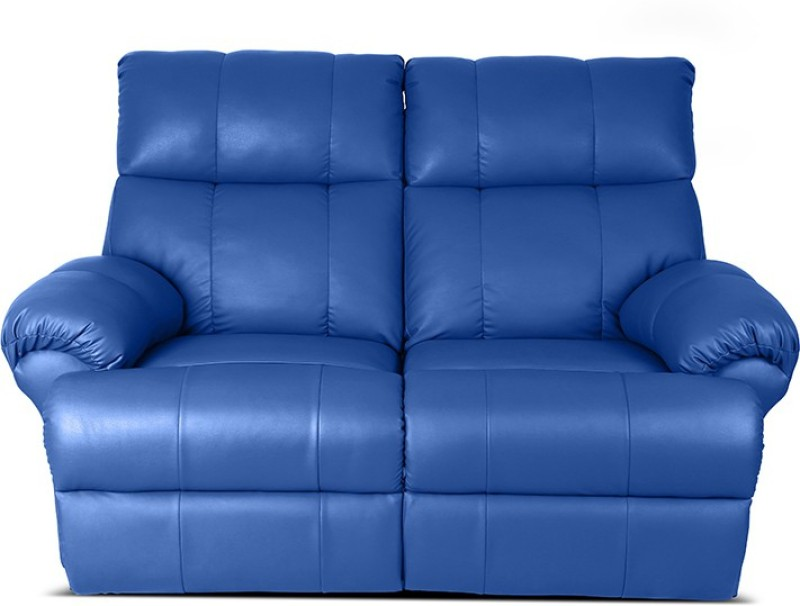 Little Nap Recliners Leatherette Powered Recliners(Finish Color - Blue)