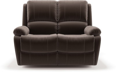 Urban Ladder Fabric Manual Recliners(Finish Color - Carafe Brown)