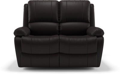 Urban Ladder Leatherette Manual Recliners(Finish Color - Chocolate Brown)