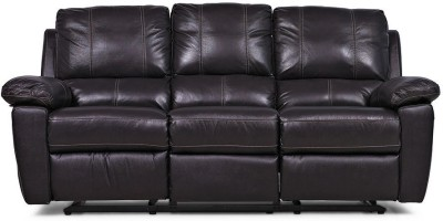 @home by Nilkamal Marshall Leather Manual Recliners(Finish Color - Brown)